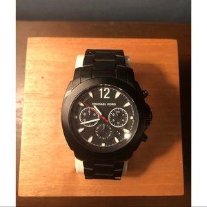 Men's Black Michael Kors Watch